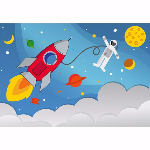 Picture of Rocket man Non Woven Wall Mural