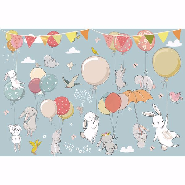 Picture of Kids Party Non Woven Wall Mural
