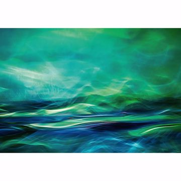 Picture of Green Waterscape Non Woven Wall Mural