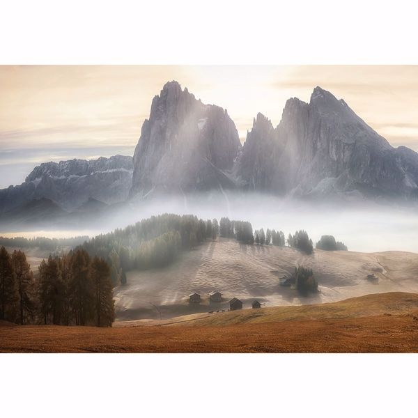 Picture of Misty Mountains Non Woven Wall Mural