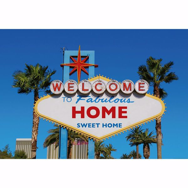 Picture of Welcome to Vegas Non Woven Wall Mural