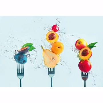 Picture of Take a Bite of Fruit Non Woven Wall Mural