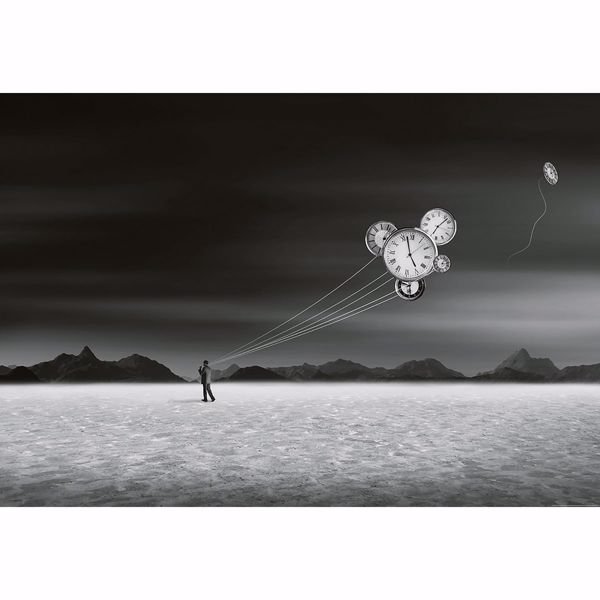 Picture of Burning Man Non Woven Wall Mural