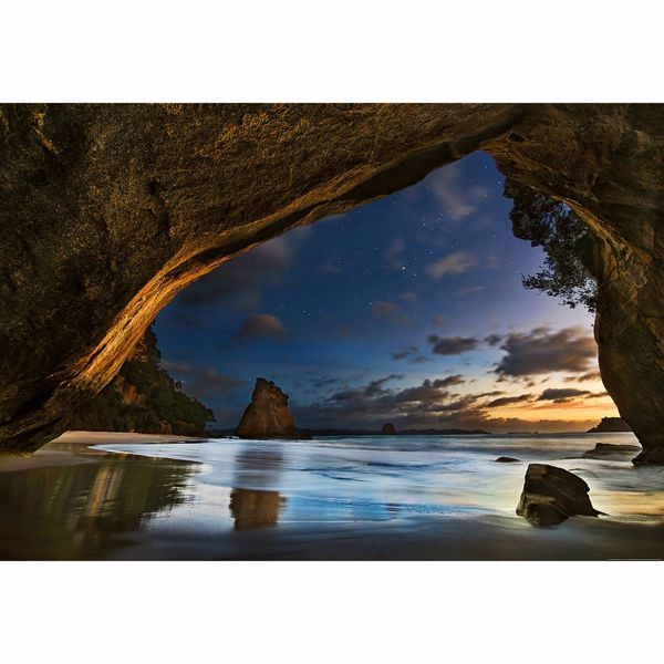 Picture of Cathedral Cove In New Zealand Non Woven Wall Mural