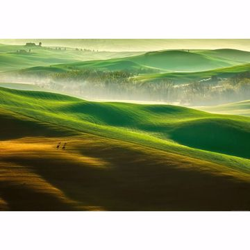 Picture of Rolling Green Hills Non Woven Wall Mural
