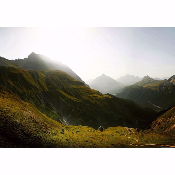 Picture of Swiss Mountains Non Woven Wall Mural