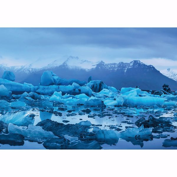 Picture of Frosty Iceland Landscape Non Woven Wall Mural