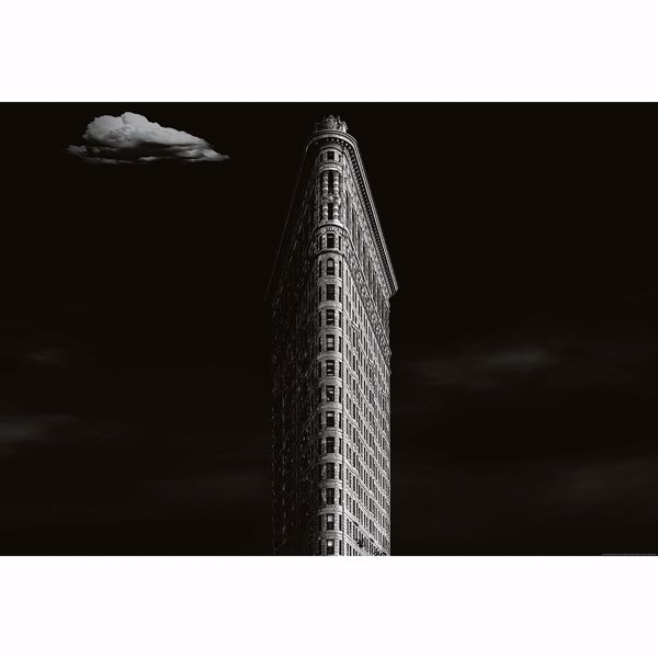 Picture of Iron Building New York Non Woven Wall Mural
