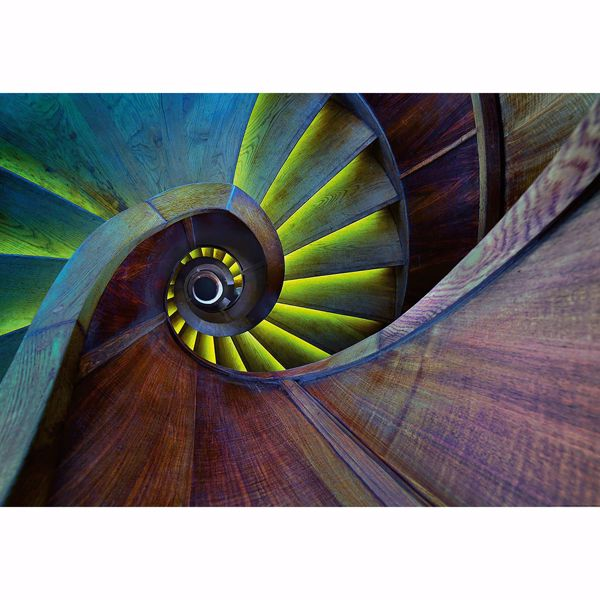 Picture of Spiral Staircase Non Woven Wall Mural