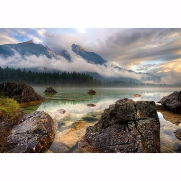 Picture of Mountain Lake Non Woven Wall Mural