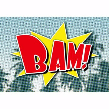 Picture of Bam Comic Non Woven Wall Mural