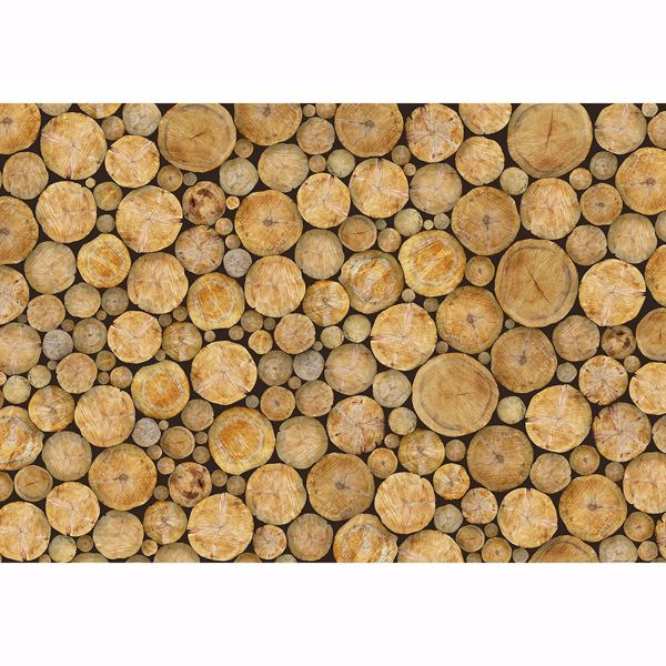 Picture of Logs Non Woven Wall Mural