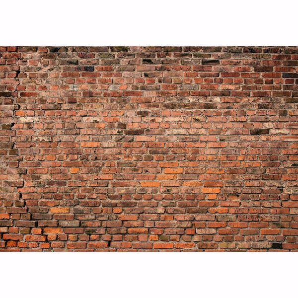 Picture of Brick Wall Red Non Woven Wall Mural
