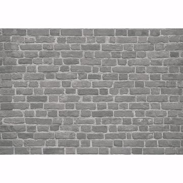 Picture of Brick Wall Black Non Woven Wall Mural