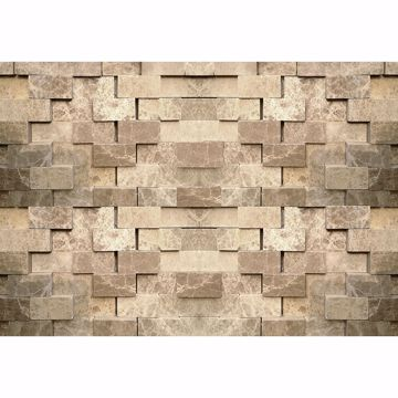 Picture of 3D Stone Wall Non Woven Wall Mural