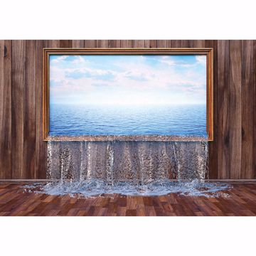 Picture of Flooded Room Non Woven Wall Mural