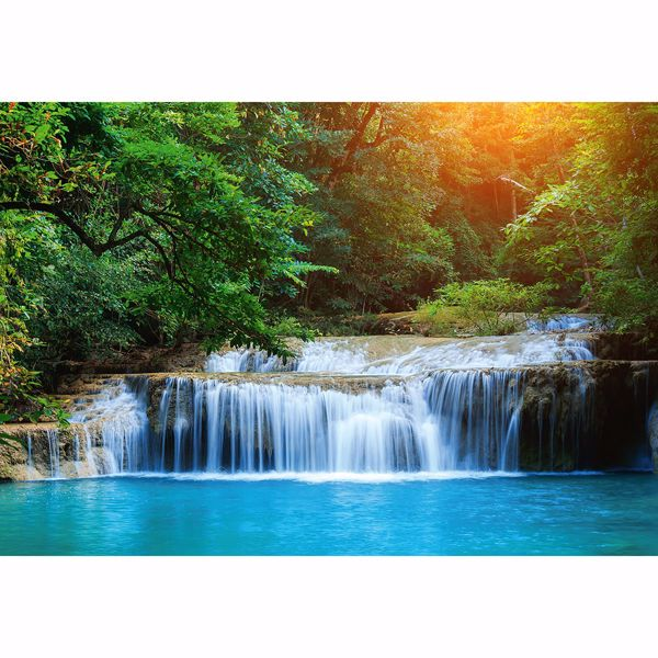 Picture of Waterfall in Rainforest Non Woven Wall Mural