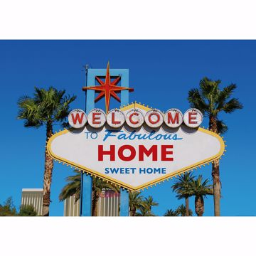 Picture of Welcome to Vegas Wall Mural
