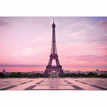 Picture of Eiffel Tower At Sunset Wall Mural