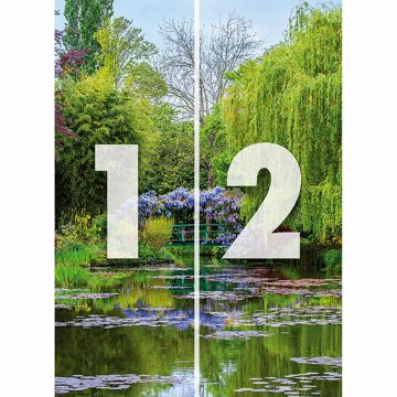 Picture of Monet's Garden In France Wall Mural