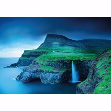 Picture of Gásadalur Faroe Islands Wall Mural