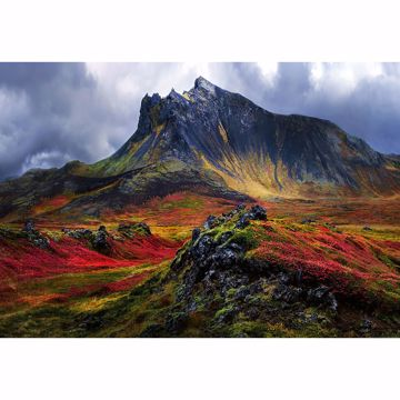 Picture of Mountain In Iceland Wall Mural