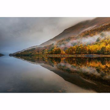 Picture of Mystical Lake In Scotland Wall Mural