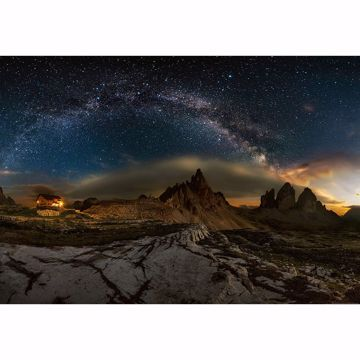 Picture of Galaxy Dolomites Wall Mural