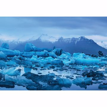 Picture of Frosty Iceland Landscape Wall Mural