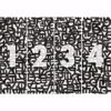 Picture of Black Urban Typography Wall Mural