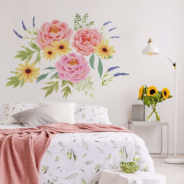 Picture of Pretty Peonies Wall Art Kit