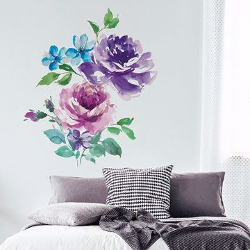 Picture of Royal Roses Wall Art Kit