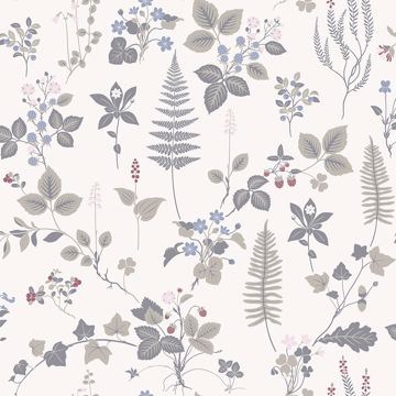 Picture of Stormare Multicolor Botanical Wallpaper