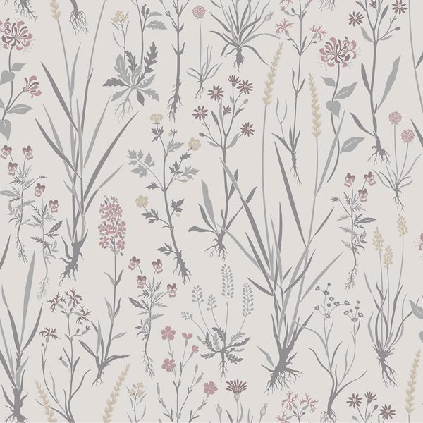 Picture of Harald Beige Botanical Wallpaper