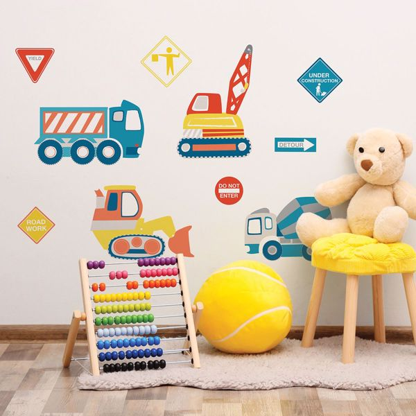 Picture of Construction Zone Wall Art Kit