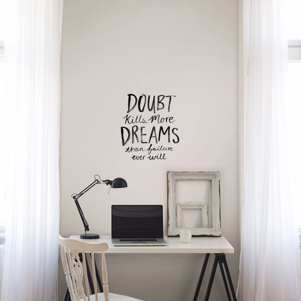 Picture of Dream More Wall Quote Decals