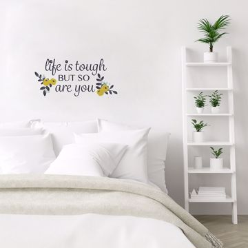 Picture of You Are Tough Wall Quote Decals