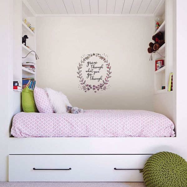 Picture of Grow Through Wall Quote Decals