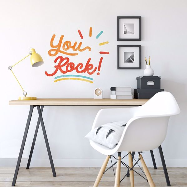 Picture of You Rock Wall Quote Decals