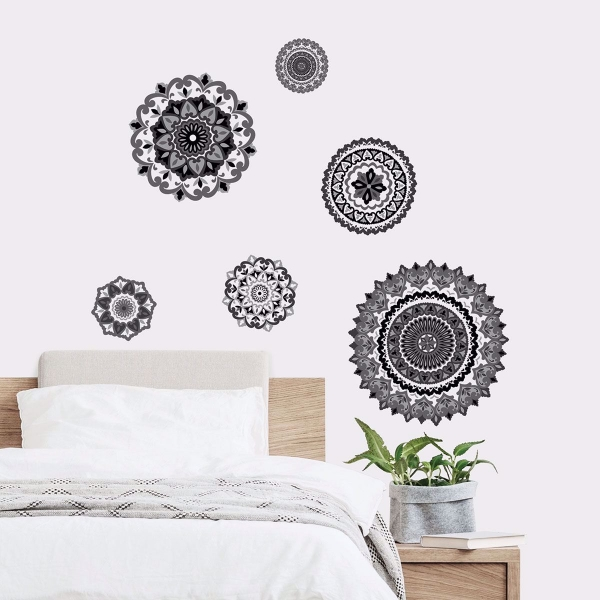 Morocco Medallions Wall Art Kit