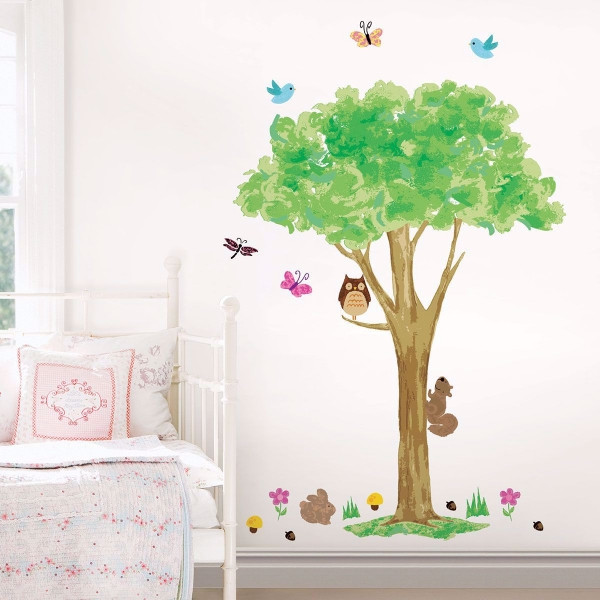 The Friendly Forest Wall Art Kit