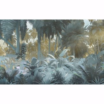 Picture of Misty Jungle Wall Mural