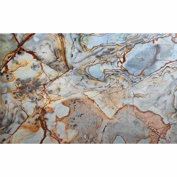 Picture of Blue Marble Wall Mural