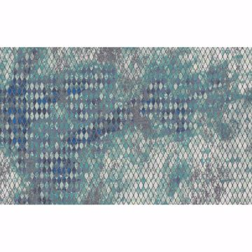 Picture of Blue Scales Wall Mural