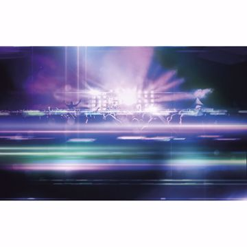 Picture of Purple Neon Concert Wall Mural