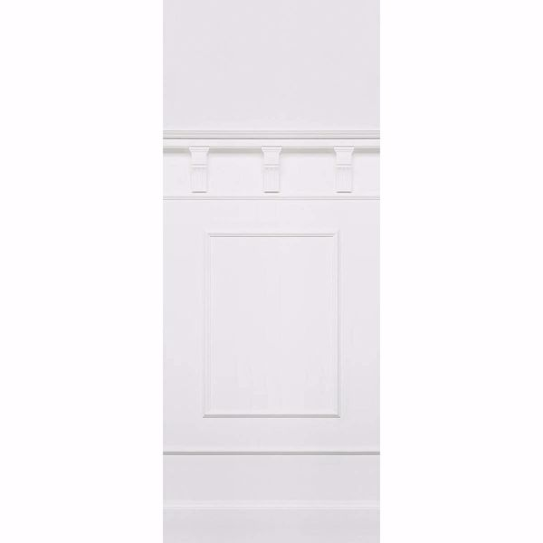 Picture of White Panel Wall Mural
