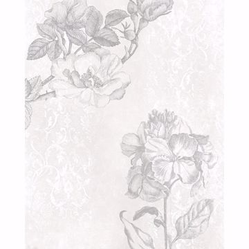 Picture of Baroque Grey Wall Mural