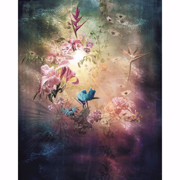 Picture of Blooming Lights Wall Mural