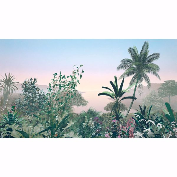 Picture of Sunrise Foliage Wall Mural