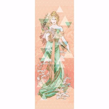 Picture of Regal Woman Wall Mural